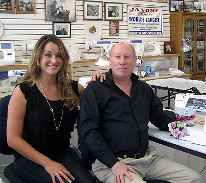 Ray's Sewing Machine Center Still in Vogue at 64