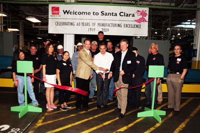 Owens Corning Invests Big in Santa Clara Manufacturing Operation