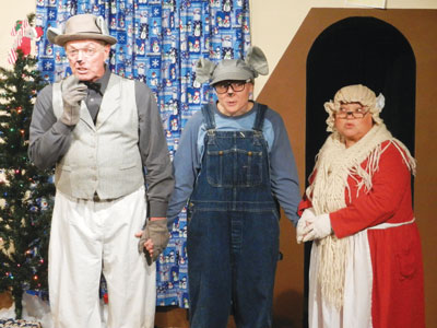 Players Wrap Up Holiday Show