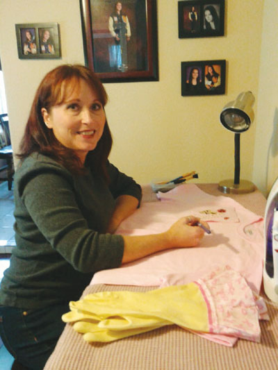 Santa Clara Resident Creates T's for Chemo Patients