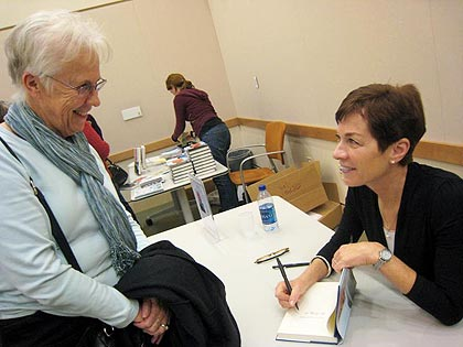 Author Bo Caldwell Gives Book Talk at Library