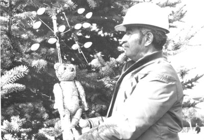 Teddy: 100 Years Atop Santa Clara's Christmas Tree and Still Going Strong