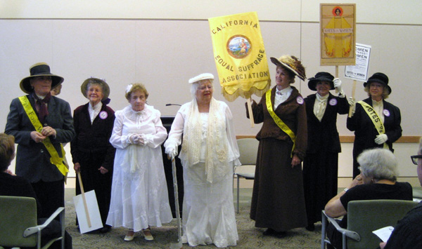 California Women's Suffrage Movement Comes to Life in Drama Commissioned by Library