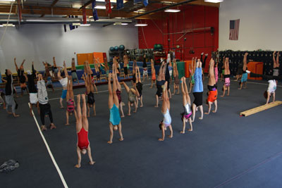 Handstands for Charity