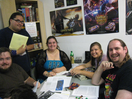 Dungeons and Dragons Group Fosters Role Playing Fun