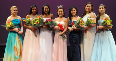 A New Miss Santa Clara's Outstanding Teen is Crowned