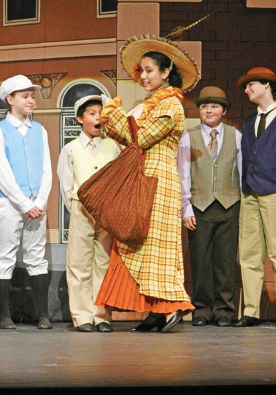 Roberta Jones Junior Theater's Hello Dolly Delights Viewers