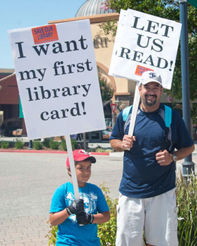 200 Turn Out to Protest County Halt to Northside Library Completion