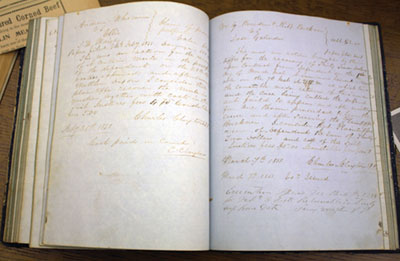 Historical Documents Fill In City's History