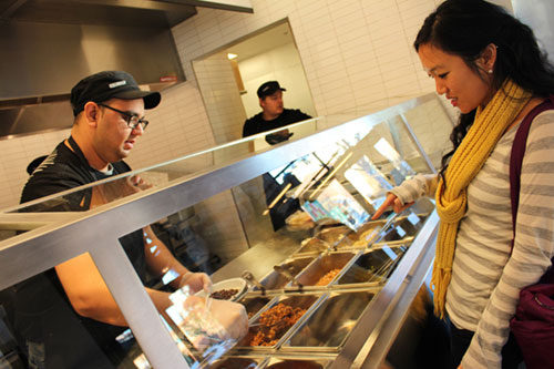 Chipotle Mexican Grill Opens in Rivermark Plaza