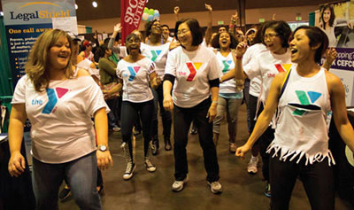 Sports, Health and Wellness Expo Mobbed by YMCA