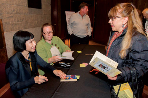 Santa Clara Girl and Best-Selling Novelist Amy Tan Inspires SCU Audience
