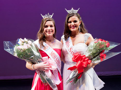 Miss Santa Clara and Miss Santa Clara's Outstanding Teen for 2013 Are Crowned