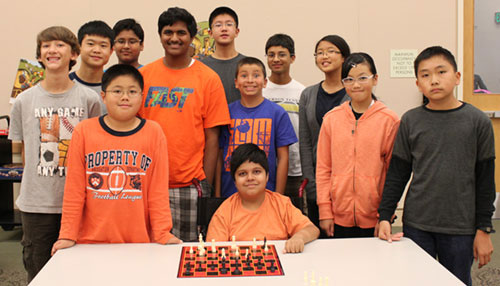 Library Hosts Teen Chess Club