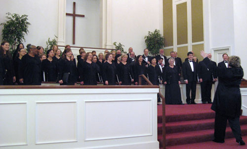 Chorale Concert Strikes a Patriotic Chord