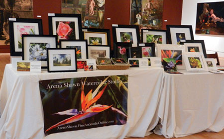 Art Fair Held to Benefit Triton