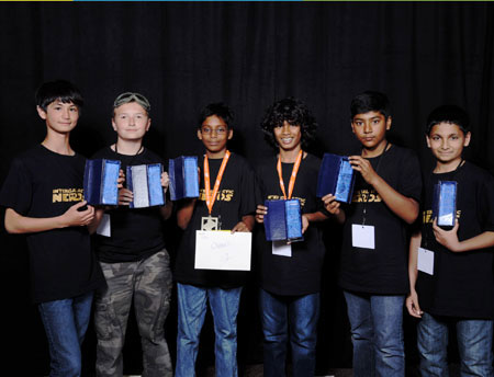 Local 6th Grade Students Win First Prize in the Tech Challenge Competition