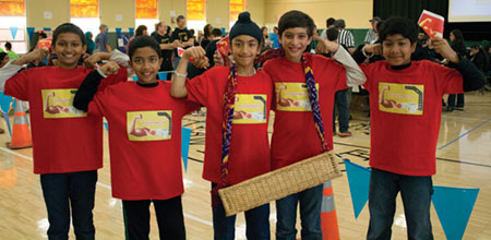 Students Solve Problems at First Lego League Event