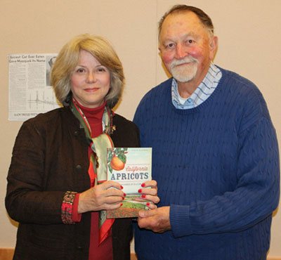 Author Robin Chapman Shares Local History of Apricot Orchards