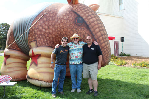 Armadillo Willy's BBQ Throws Birthday Bash to Fundraise for Rotary PlayGarden