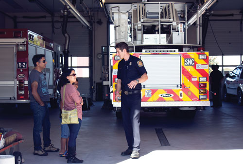 SCFD Teaches Emergency Preparedness at Open House Event