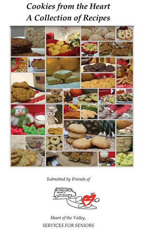 Heart of the Valley Creates Cookie Cookbook