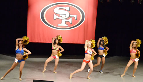 Gold Rush Finalists Vie to Make Coveted Cheer Squad