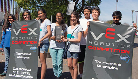Local Students Win State Robotics Championship