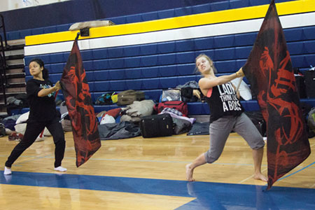 Making The Band: Vanguard Color Guard
