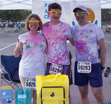 Colorful Run Supports Autism Center