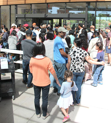 Santa Clara Residents Celebrate Northside Library Victory
