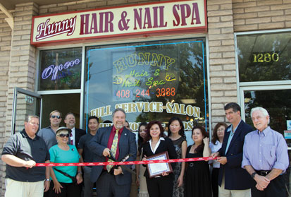 Hunny Hair and Nail Spa Celebrates Grand Opening in Franklin Square