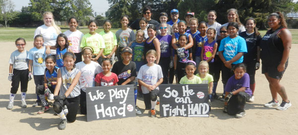 Santa Clara PAL Softball Champ Gives Back Through Charity Camps
