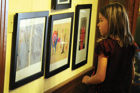 Headen-Inman Displays Art