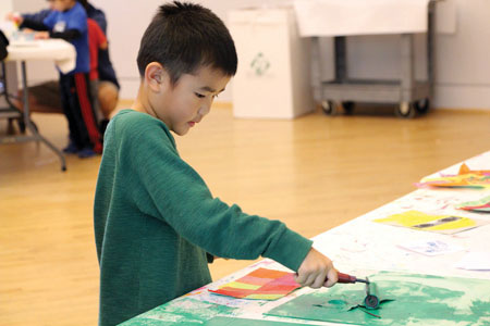 Triton Holds Final Family Art Day