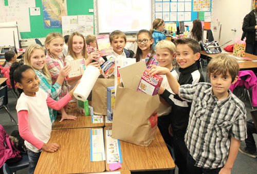 Fourth Graders at Sutter Elementary School Fundraise for JW House