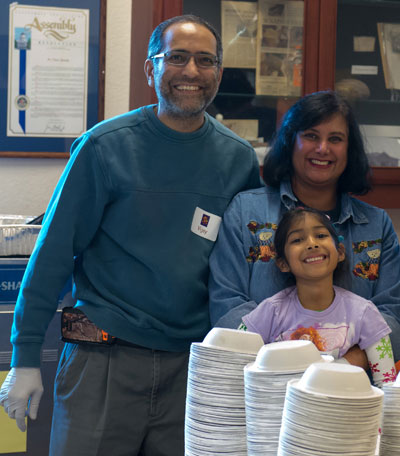 Santa Clara's Marsalli Family Set Their Thanksgiving Dinner Table for 700