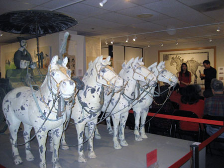 Lunar Year of the Horse Exhibit Showcases Acclaimed Art Depicting Horses