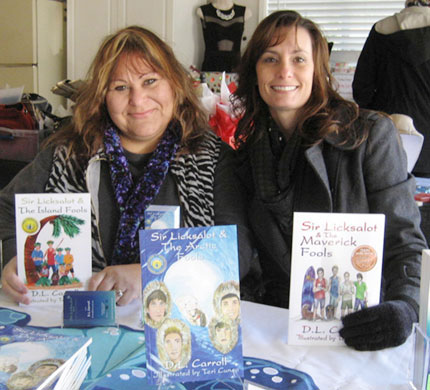 Santa Clara Friends Collaborate on Award-Winning Children's Book Series