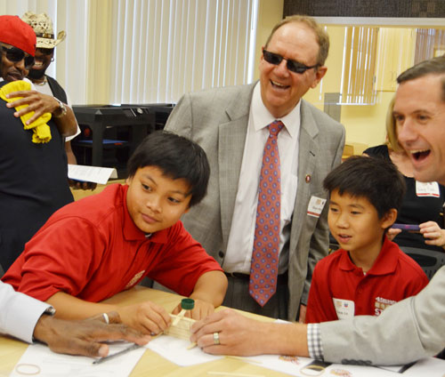 49ers Foundation Partners With Chevron, SCUSD and Others to Launch STEM Program