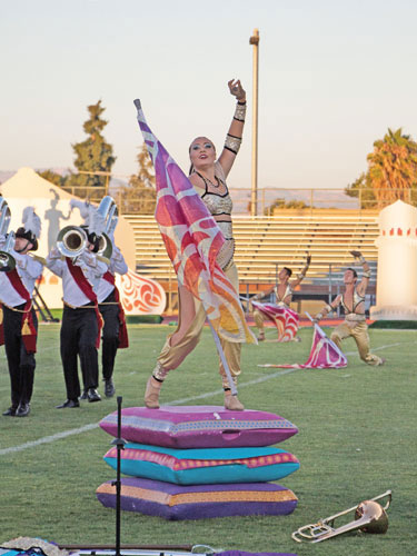 Vanguard Wins Hometown Competition, Continues to Improve Show