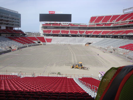 Rotary Members Get Once-In-A-Lifetime View of Rapidly-Advancing Levi's Stadium Construction