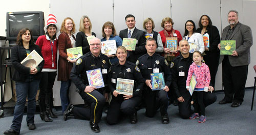Community Members Gather for Read Across America at Laurelwood Elementary School
