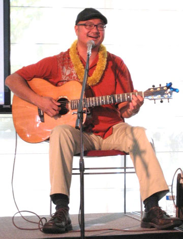 Award-Winning Slack Key Guitarist's Music and Aloha Message Strike a Chord with Mission College Students