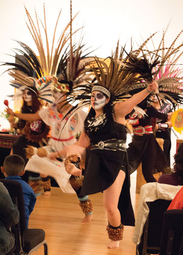 Tezkatlipoka Brings Traditional Dance to Triton