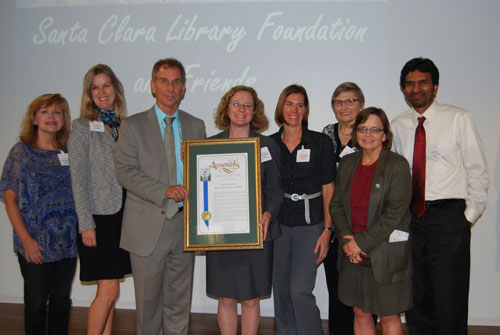 Assemblymember Bob Wieckowski Recognizes Library Foundation and Santa Clara Hero
