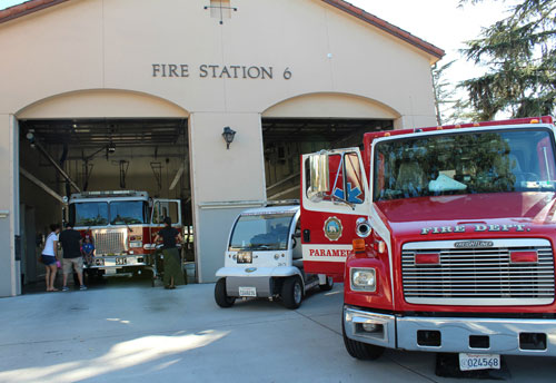 Community Attends Santa Clara Fire Department's Open House