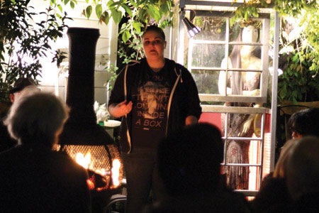 Studio Bongiorno Hosts Poetry Night