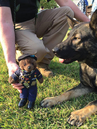 Sean's K9s Holds First Fundraiser