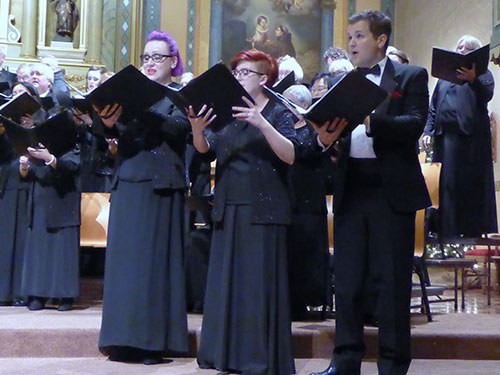 Santa Clara Chorale Engages the Community in Lessons & Carols of Christmas